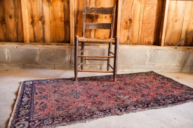 Antique Farahan Sarouk Rug Runner