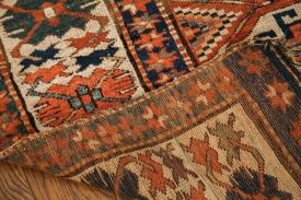 Antique Moghan Kazak Carpet