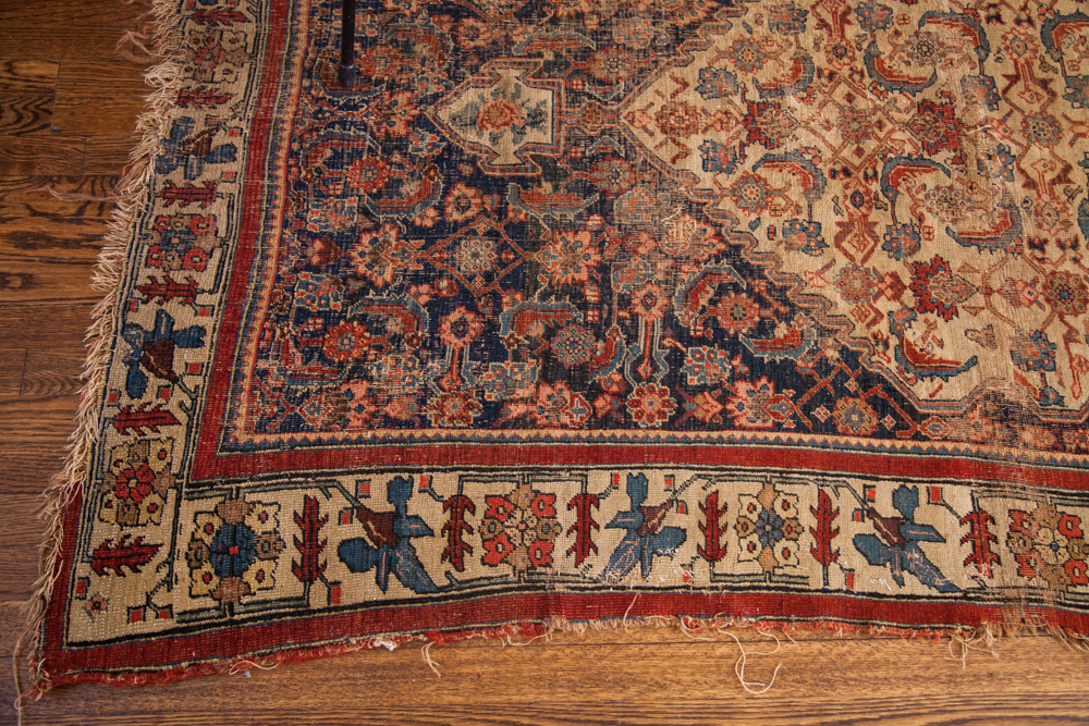 Antique Bijar Rug