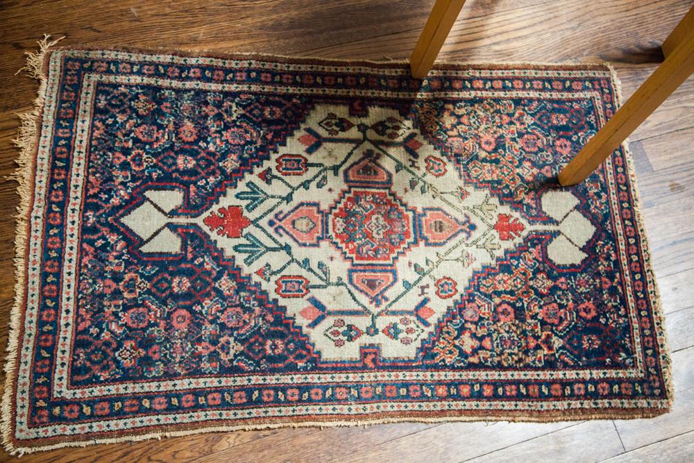 Small Antique Senneh Rug