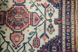 Small Antique Senneh Rug