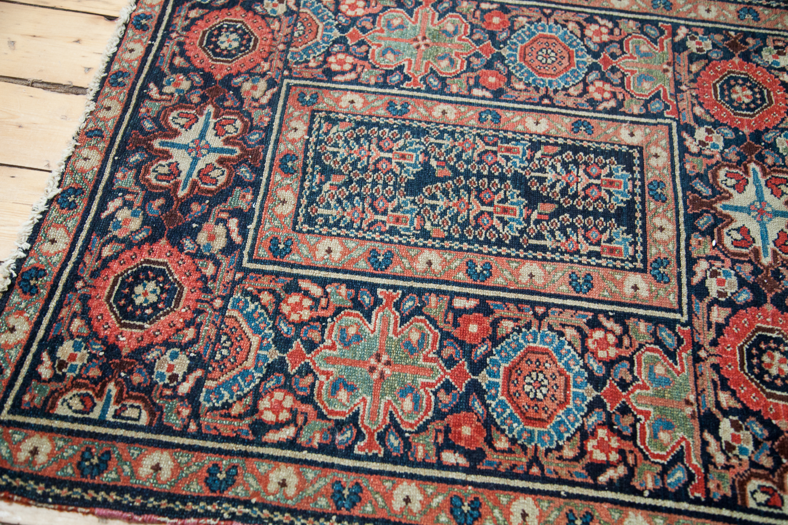 Antique Square Malayer Rug