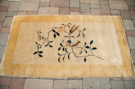 Antique Chinese Nichols Rug