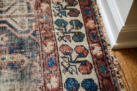 Worn Persian Rug