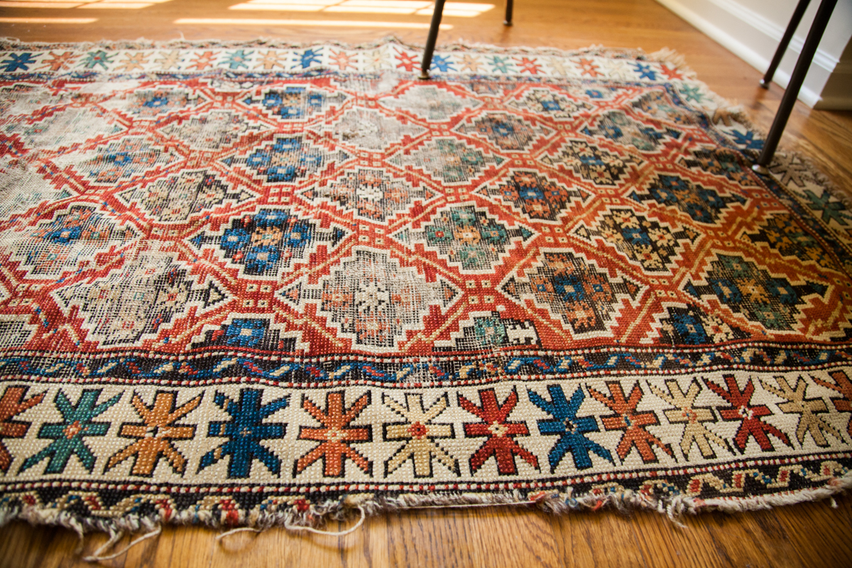 Antique Kuba Rug