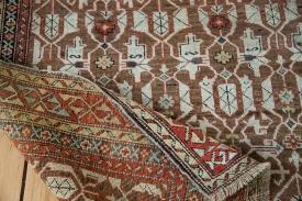 Brown Caucasian Rug