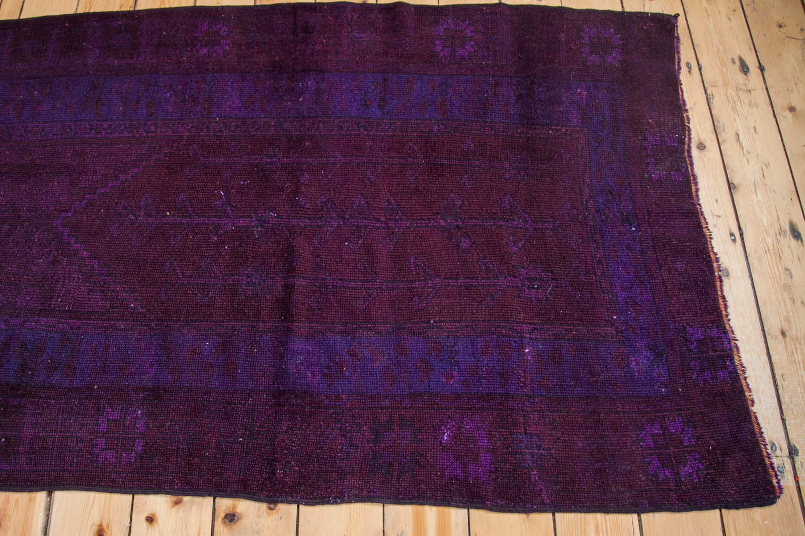 Vintage Overdyed Carpet