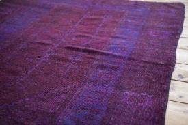 Vintage Overdyed Carpet