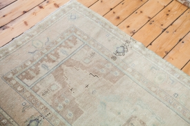 Beige Vintage Turkish Rug