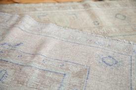 Beige Vintage Turkish Rug