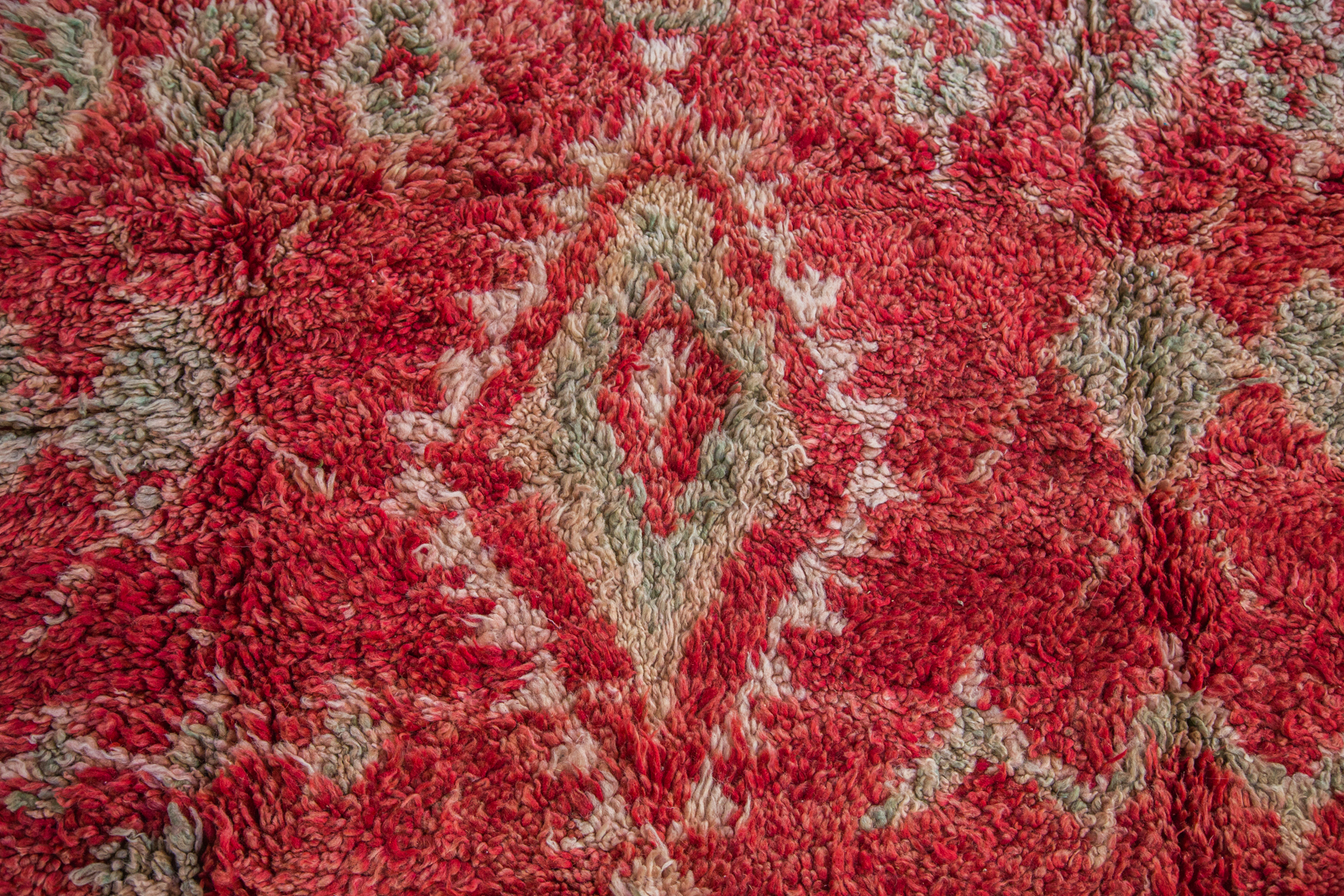Red Moroccan Carpet
