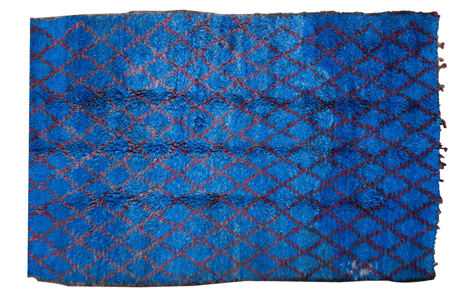 Blue Moroccan Carpet