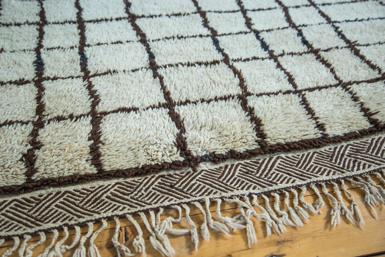Checkered Vintage Moroccan
