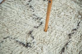 Abstract Moroccan Rug