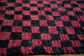 Checkered Moroccan Rug
