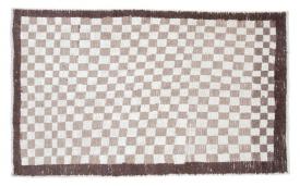 Checkered Tulu Rug