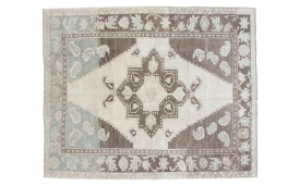 Silver Turkish Rug