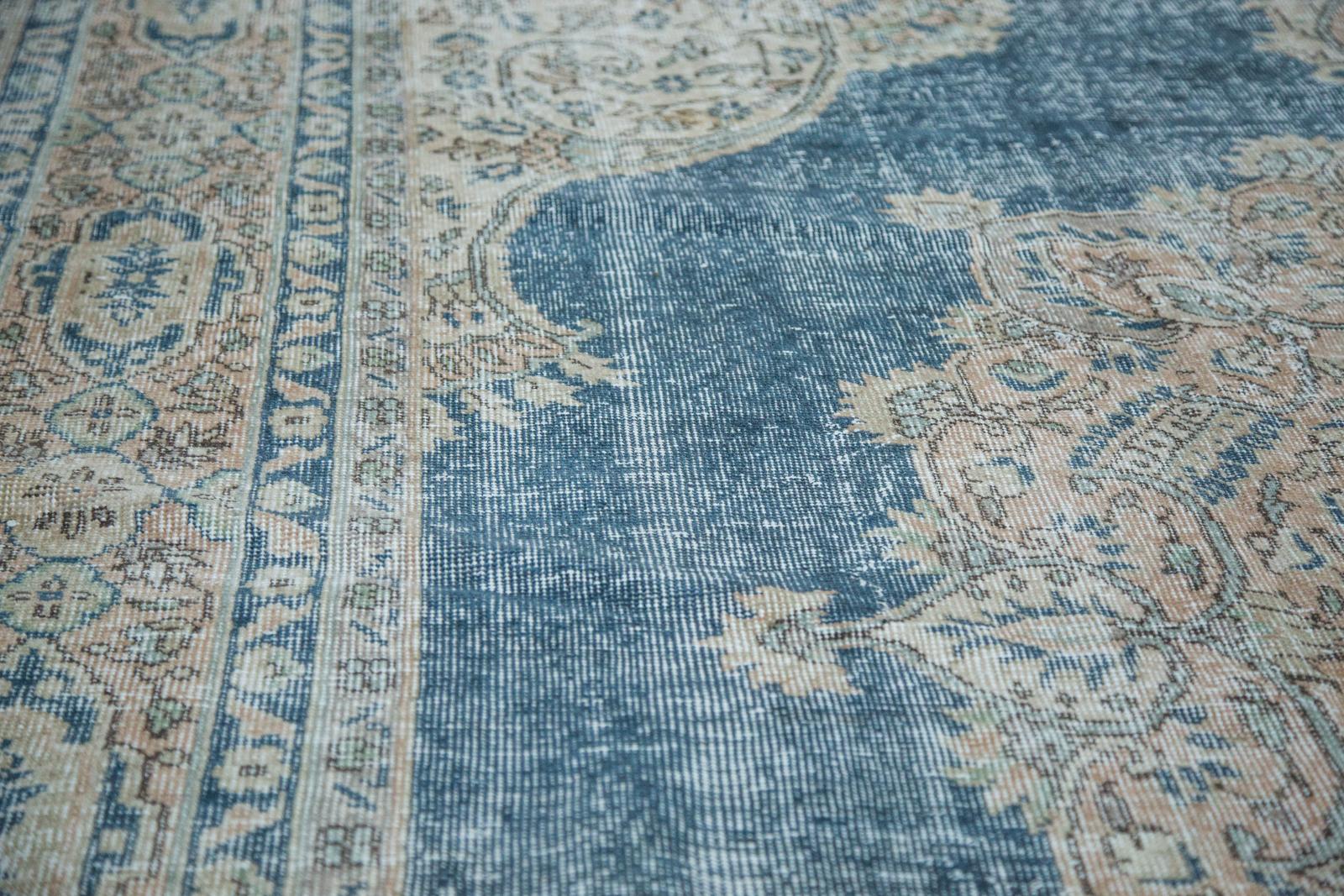 Vintage Blue Oushak