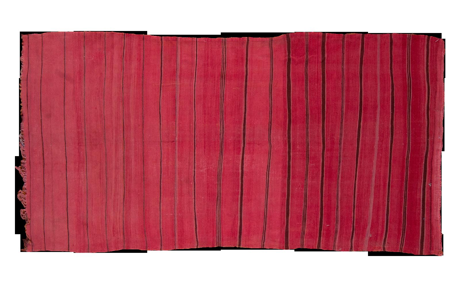 Red Moroccan Kilim