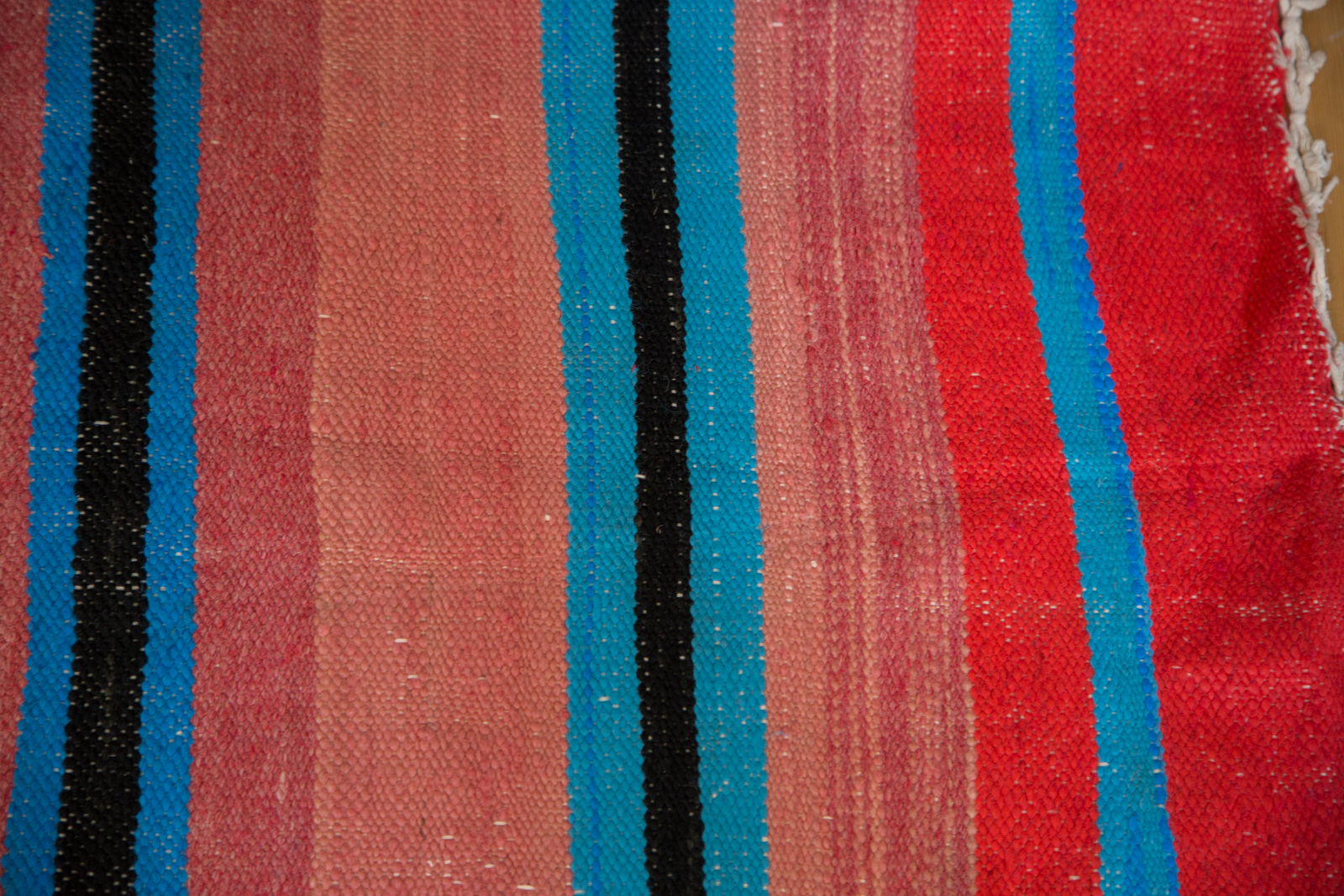 Pink and Blue Kilim
