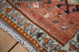 Orange Vintage Rug Mat