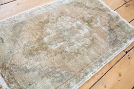 Small Vintage Rug Mat
