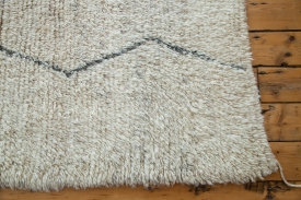 Ivory Moroccan Carpet