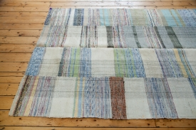 Plaid Rag Rug