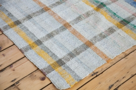 Checkered Plaid Rag Rug