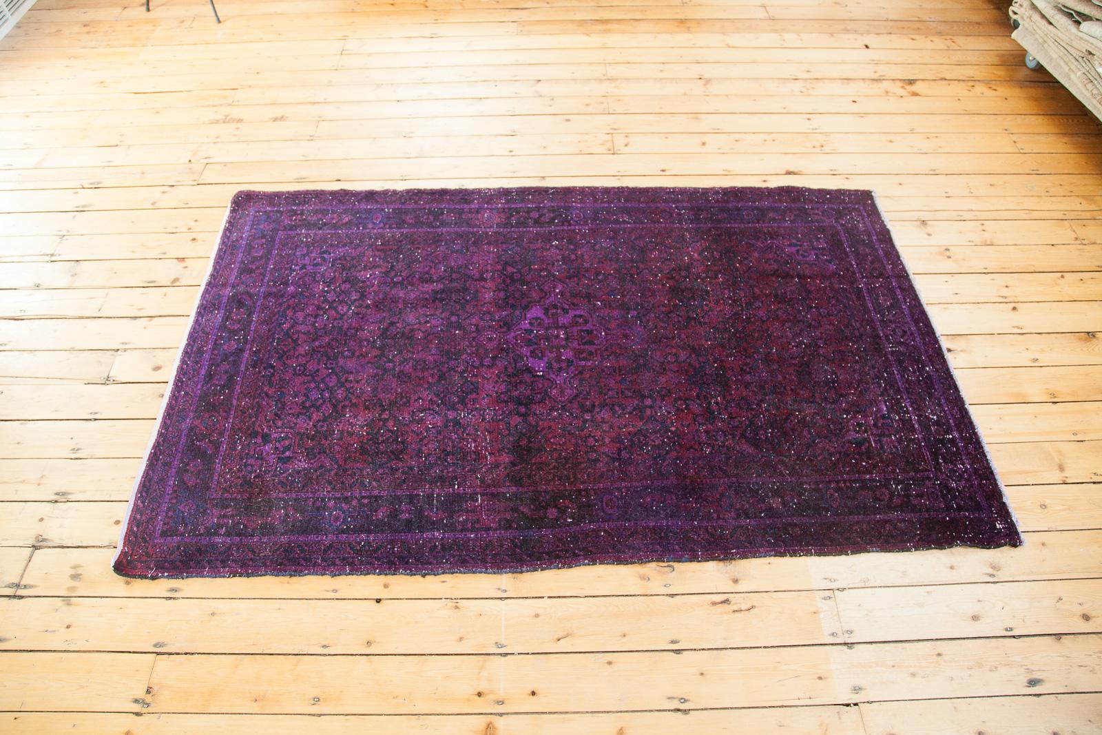 Vintage Purple Overdye