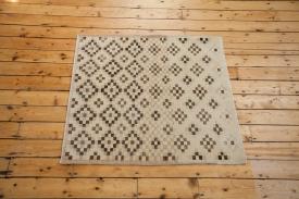 Contemporary Vintage Square Rug