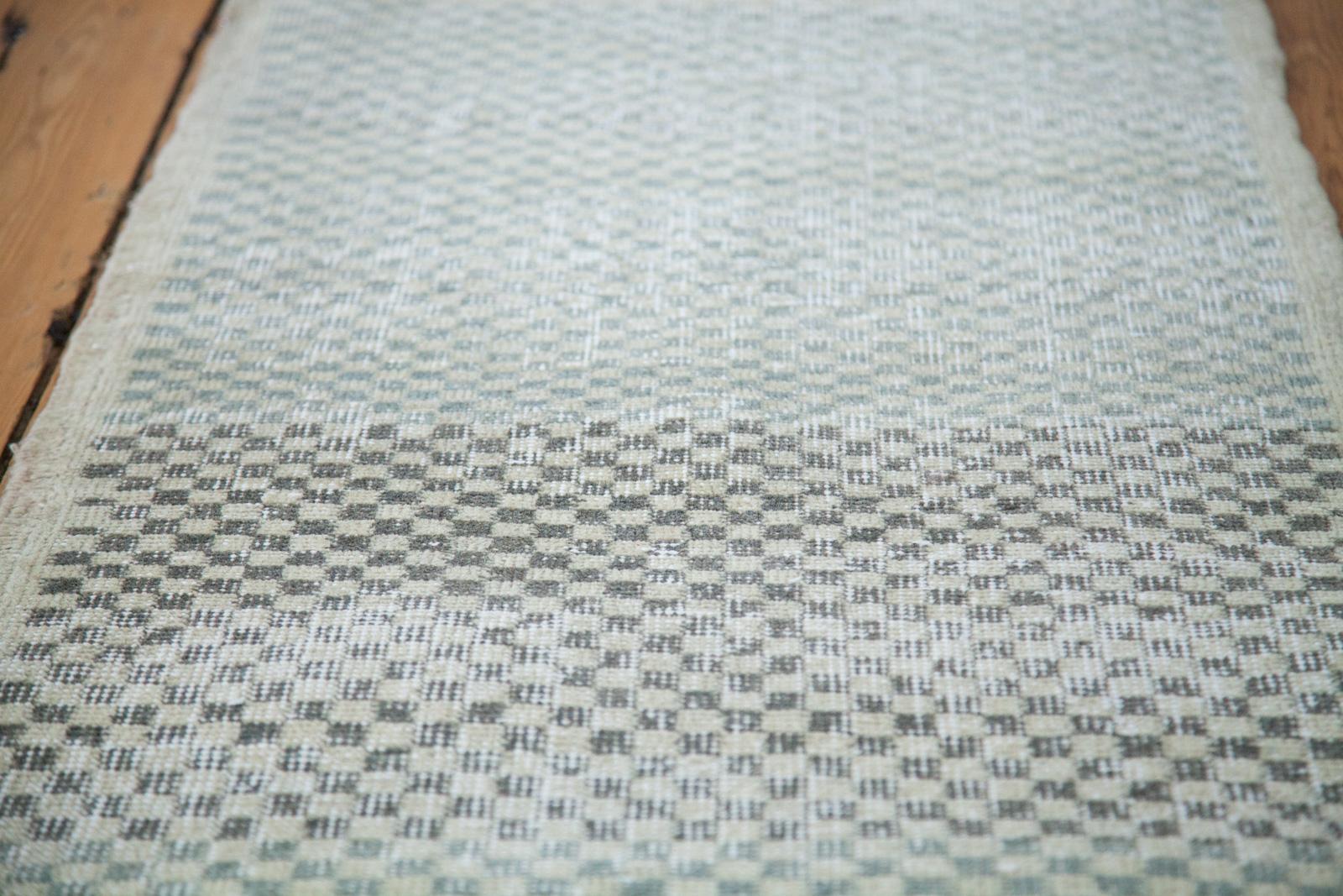 Checkered Blue Runner