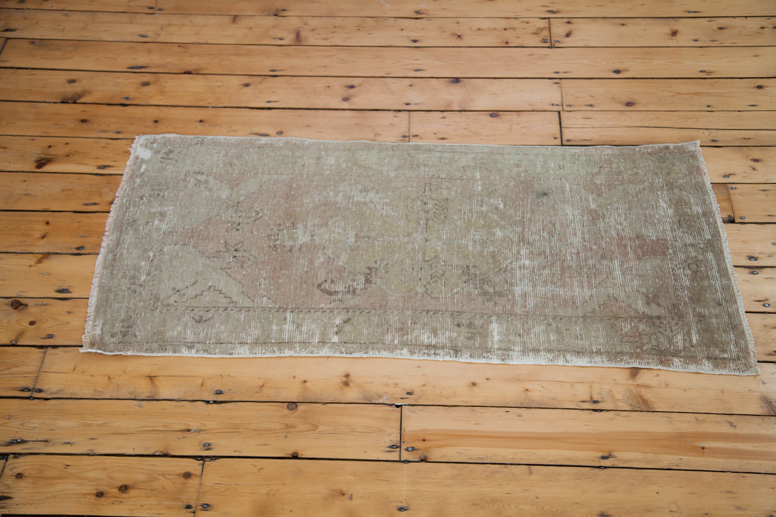 Vintage Worn Turkish Rug