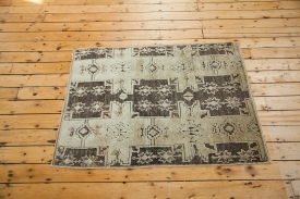 Turkish Brown Star Rug
