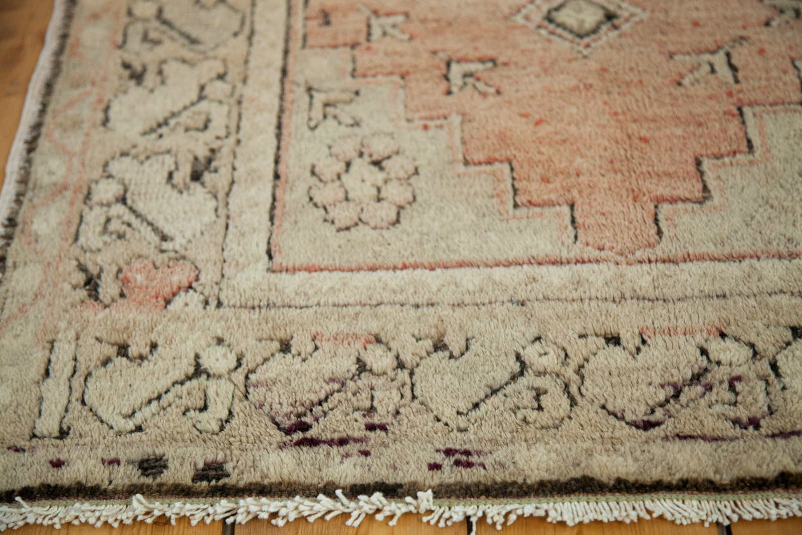 Orange Turkish Rug