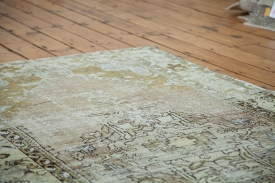 Worn Beige Turkish Rug