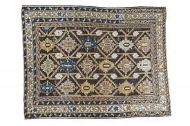 Caucasian Square Rug