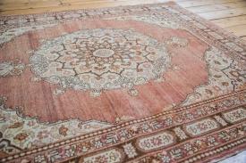 Rust Red Tabriz