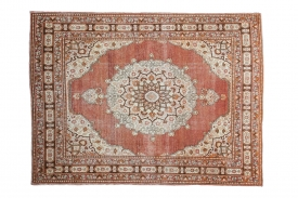 Rust Red Tabriz