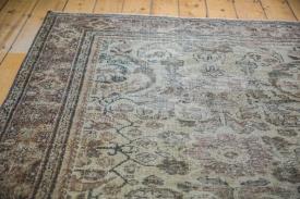 Distressed Persian Area Rug