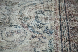 Distressed Persian Area Rug