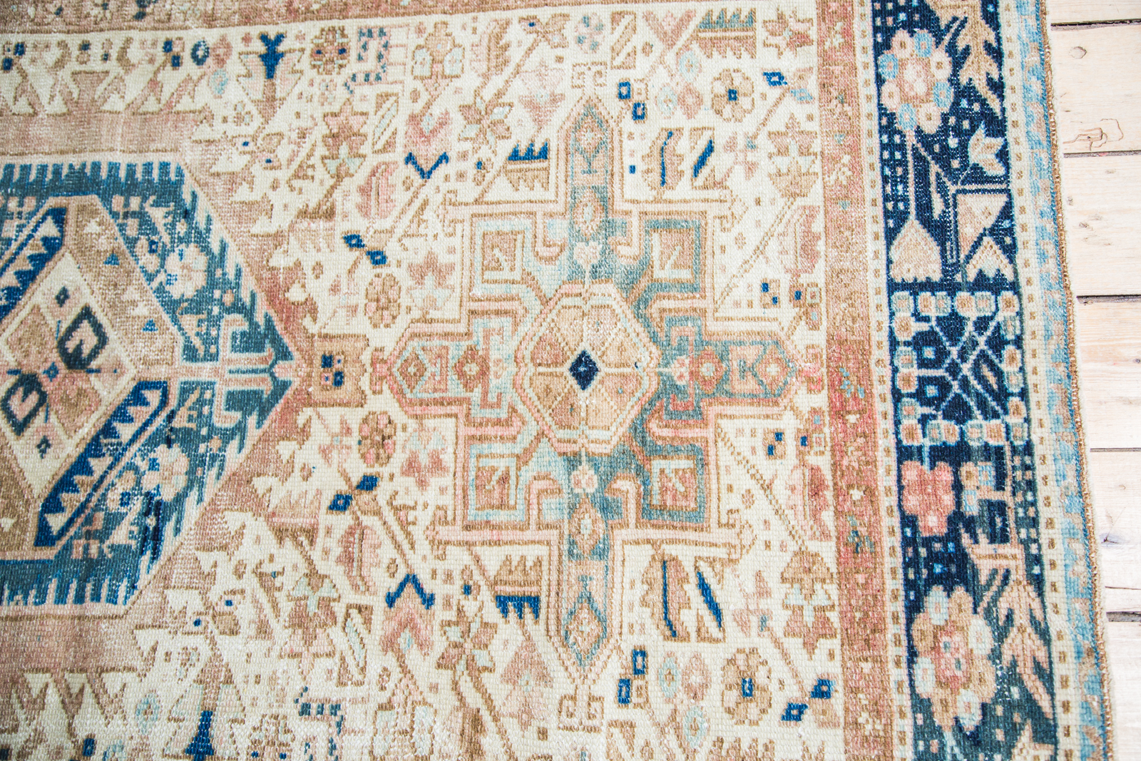 1940s Persian Blue Rug