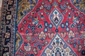 Vintage Red Sarouk