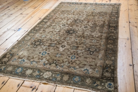 Persian Bronze Star Rug
