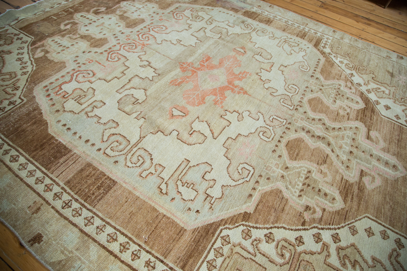 Distressed Turkish Rug