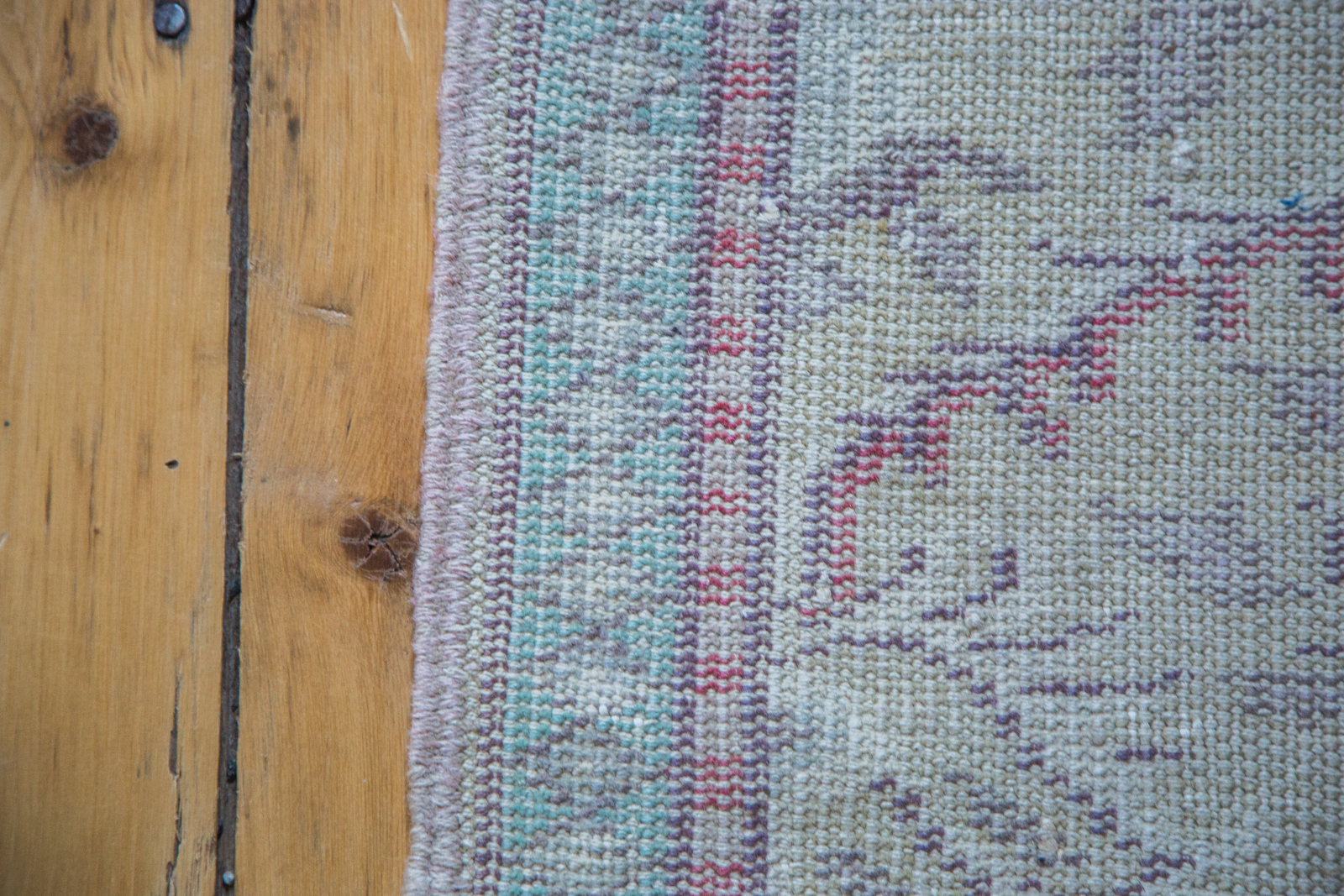 Small Oushak Rug Runner