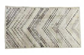 Distressed Oushak Rug