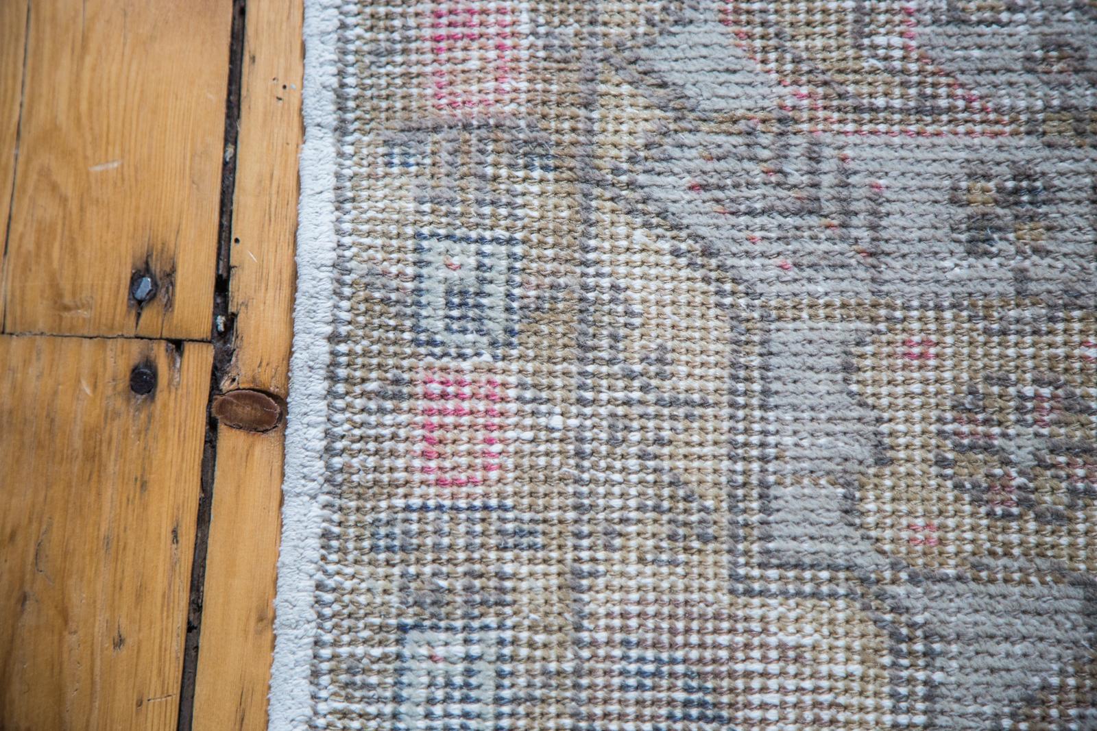 Vintage Oushak Rug