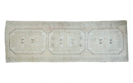 Distressed Turkish Rug Runner