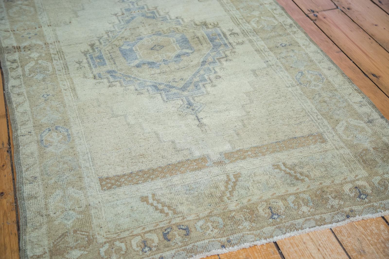 Vintage Oushak Carpet